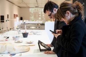 """Il web team del Mart al lavoro durante """"Progetto Cibo. La forma del gusto"""""""