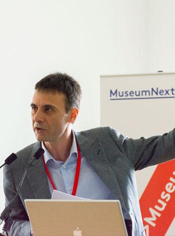 Luca Melchionna a Museum Next 2014, Newcastle