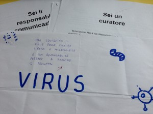Gioco di ruolo sulla comunicazione web nei musei - Il Virus