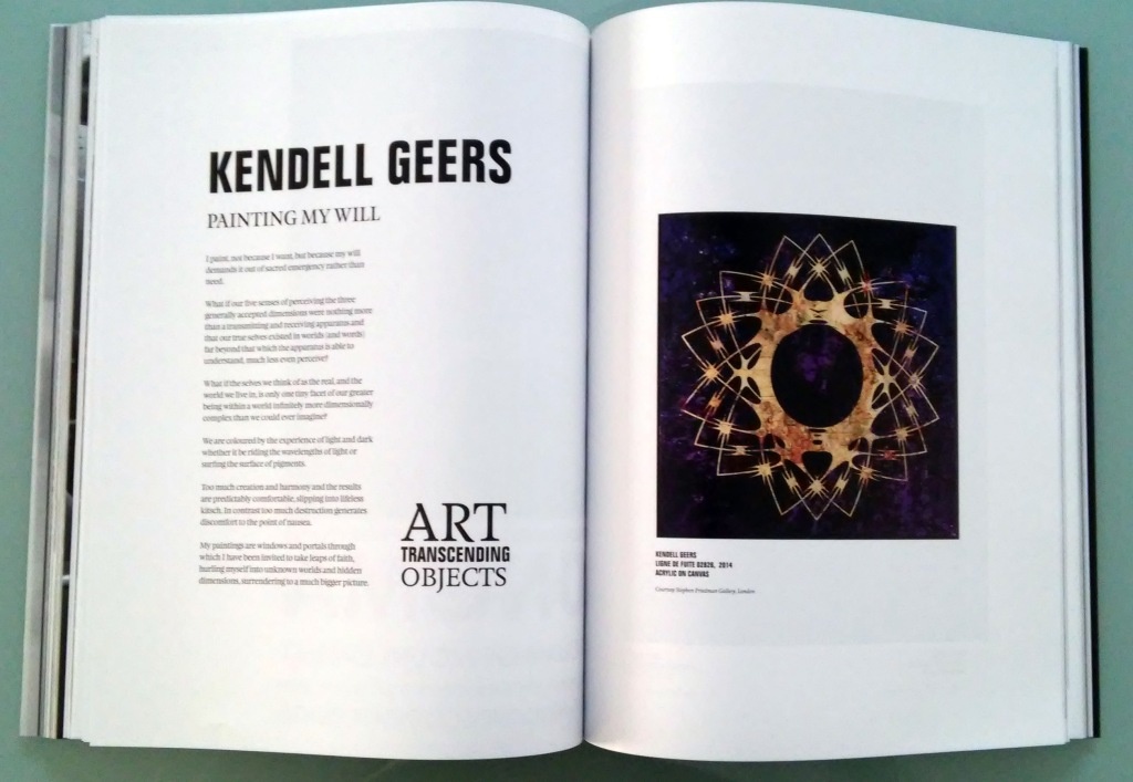 TAR Transcendence - Contributo di Kendell Geers