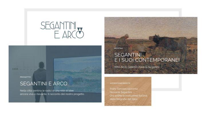 Segantini e Arco - il sito web